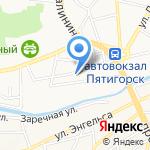 Адвокат и Партнеры на карте Пятигорска (КМВ)