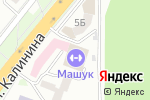 Схема проезда до компании Машук в Пятигорске