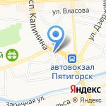 ZARRA на карте Пятигорска (КМВ)