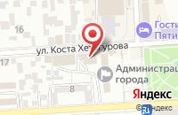 Схема проезда до компании Финансовое управление в Пятигорске