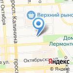 Управление имущественных отношений на карте Пятигорска (КМВ)