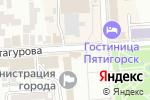 Схема проезда до компании Банкомат, Райффайзенбанк в Пятигорске