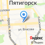 Мастерская на карте Пятигорска (КМВ)