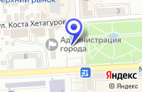 Схема проезда до компании ТФ КАСПАРОВ В. С. в Пятигорске
