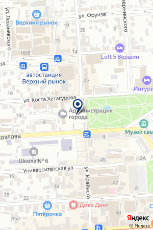 ПРОДОВОЛЬСТВЕННЫЙ МАГАЗИН ЛЕГЕ на карте Пятигорска