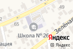 Схема проезда до компании Средняя общеобразовательная школа №26 в Свободах