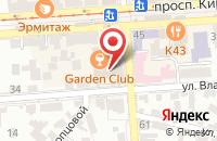 Схема проезда до компании Кмвмедиа в Пятигорске