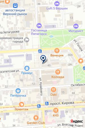МАГАЗИН ПОДАРКОВ HAPPY TEDDI на карте Пятигорска