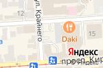 Схема проезда до компании ТехИнСервис в Пятигорске