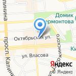Городской ТелеграфЪ на карте Пятигорска (КМВ)