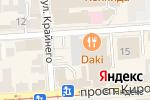 Схема проезда до компании Эстетик Юг в Пятигорске