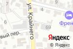 Схема проезда до компании Алиса в Пятигорске