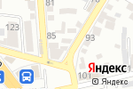 Схема проезда до компании Королева тортов в Пятигорске
