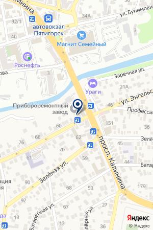 Пивной квартал на карте Свобод