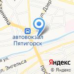Домашние деньги на карте Пятигорска (КМВ)