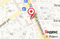 Схема проезда до компании Суши Шу в поселке городского типа Свободы