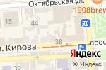 Схема проезда до компании Союз предпринимателей СКФО в Пятигорске