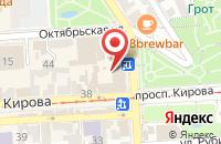 Схема проезда до компании Samsung в Пятигорске
