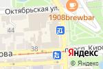 Схема проезда до компании Кредо Маркет в Пятигорске