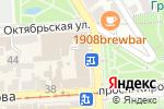 Схема проезда до компании Фон в Пятигорске