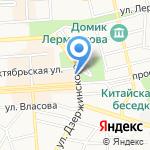 Proffline на карте Пятигорска (КМВ)