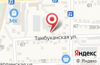 Схема проезда до компании АВЮ в Горячеводском