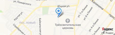 Аптека на карте Горячеводского