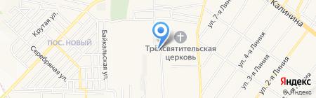 Гранд-Кавказ строй на карте Горячеводского