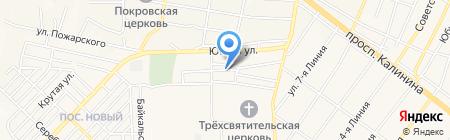 Связь-СП на карте Горячеводского