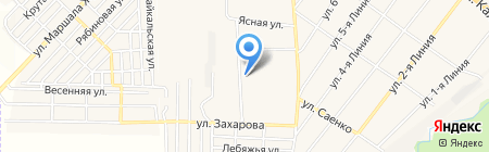 Кавминпрод на карте Горячеводского