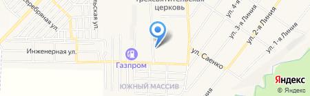 Банкомат КБ Центр-инвест на карте Горячеводского
