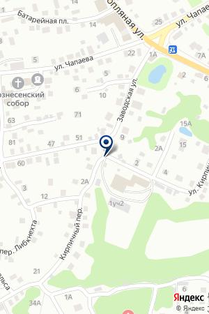 ПКФ ЛУЧ на карте Павлово