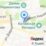 Чайная Поэзия на карте Пятигорска (КМВ)