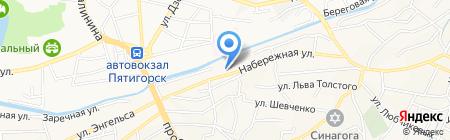 Печать-Сервис на карте Горячеводского