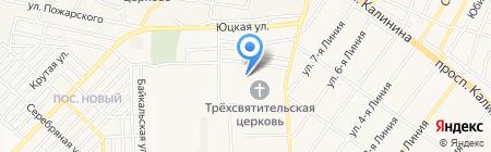 Детский сад №40 Дружба на карте Горячеводского