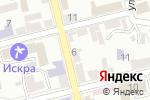 Схема проезда до компании Пушкинский дом в Пятигорске