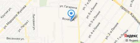 Детский сад №3 на карте Горячеводского