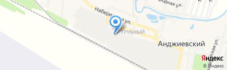 Аптечный склад на карте Анджиевского