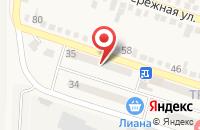Схема проезда до компании Хлеб в Анджиевском