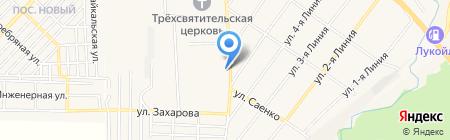 Georgia на карте Горячеводского