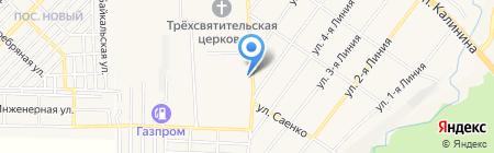 Почтовое отделение №1 на карте Горячеводского