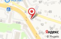 Схема проезда до компании Амалия в Горячеводском