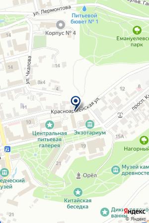 ПЯТИГОРСКИЙ ФИЛИАЛ СЕВЕРО-КАВКАЗСКИЙ ГОСУДАРСТВЕННЫЙ ТЕХНИЧЕСКИЙ УНИВЕРСИТЕТ на карте Пятигорска