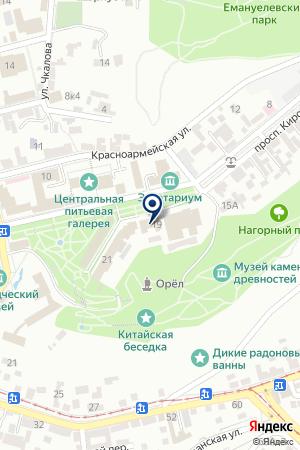 ТФ ТРАДИЦИЯ ЗДОРОВЬЯ на карте Пятигорска