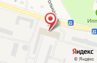 Схема проезда до компании Терский конный завод в Новотерском