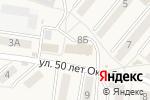 Схема проезда до компании Комплимент в Железноводске