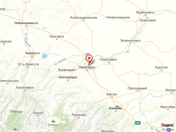 посёлок городского типа Иноземцево на карте