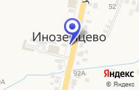 Схема проезда до компании ГЕОСЕРВИС в Железноводске