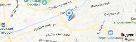 Надежда на карте Горячеводского