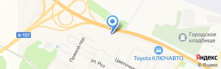 Банкомат МДМ Банк на карте Анджиевского